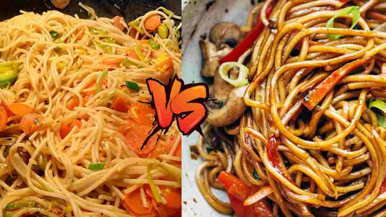 Chow Mein Vs Lo Mein Different Nutrition Calculate Healthcarefits